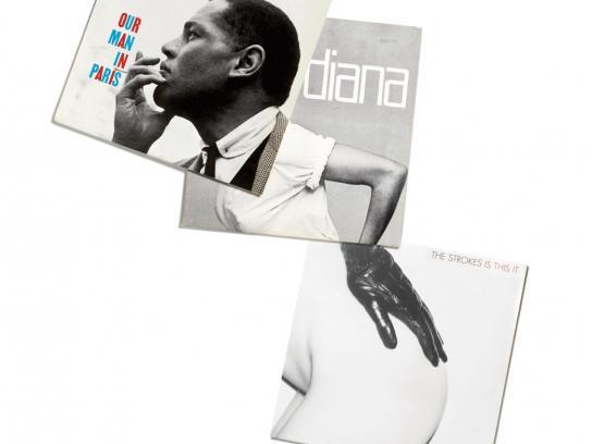 Vinyl Exchange Print Ad -  Dexter