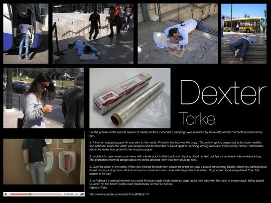 Dexter Ambient Ad -  Blood