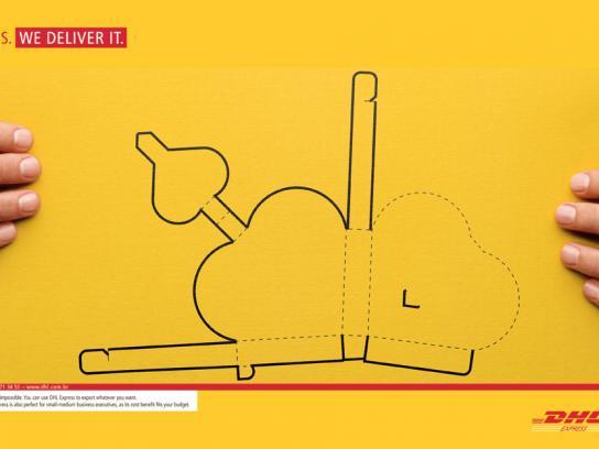 DHL Print Ad -  Yes, 2
