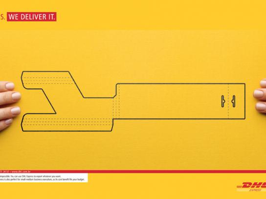 DHL Print Ad -  Yes, 3