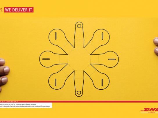 DHL Print Ad -  Yes, 1