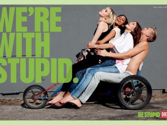 Diesel Print Ad -  Be stupid, 39