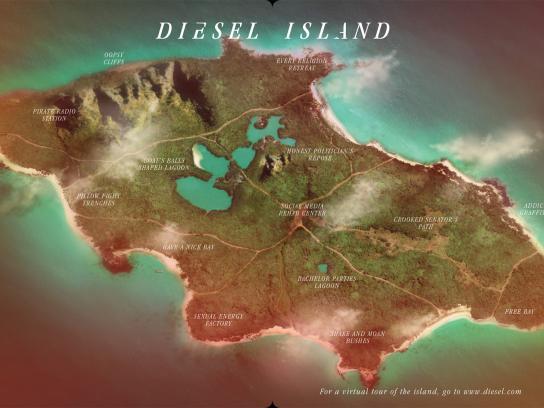 Diesel Digital Ad -  Island