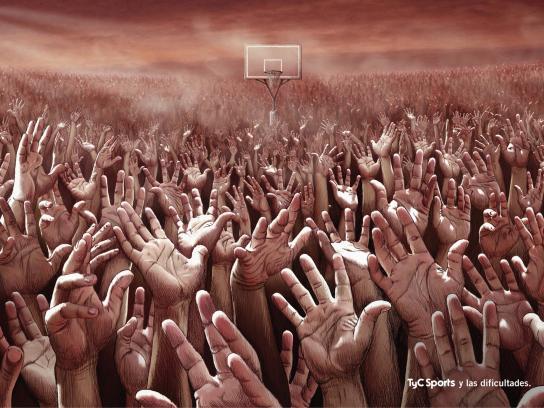 TyC Sports Print Ad -  Difficulties
