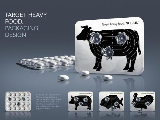 Nobilin Direct Ad -  Target Heavy Food
