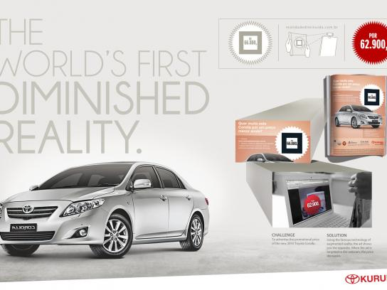 Toyota Digital Ad -  The world's first Diminished Reality