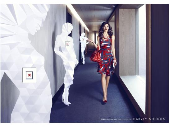 Harvey Nichols Print Ad -  Woman, 1