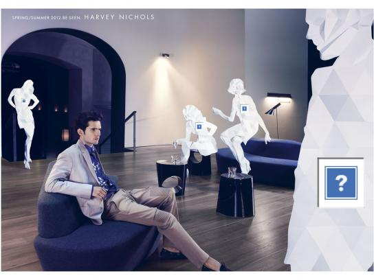 Harvey Nichols Print Ad -  Man