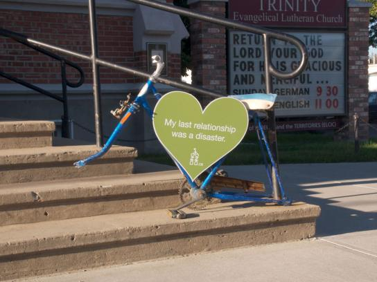 Edmonton Bicycle Commuters' Society Outdoor Ad -  Relationship