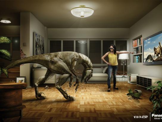 Panasonic Print Ad -  Dino