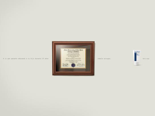NeoStrata Print Ad -  Diploma