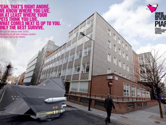 PIAF Direct Ad -  TBWA London