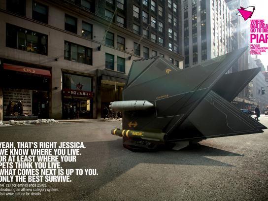 PIAF Direct Ad -  Y&R NY