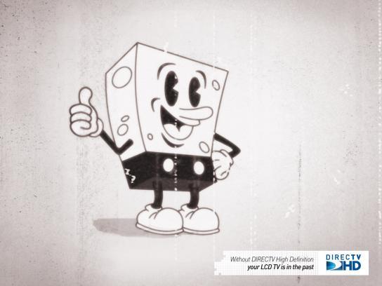 DIRECTV Print Ad -  Spongemouse