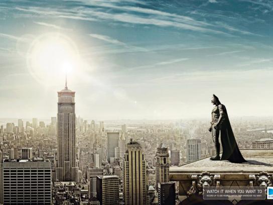 DIRECTV Print Ad -  Batman