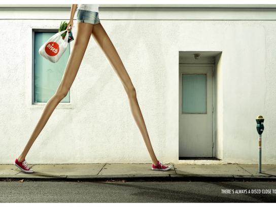 Disco Print Ad -  Shorts