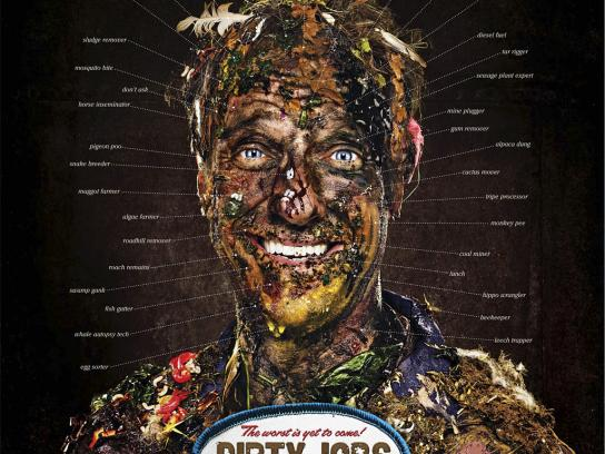 Discovery Channel Print Ad -  Dirty Jobs