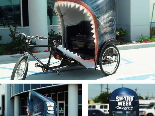 Discovery Channel Ambient Ad -  Shark Week