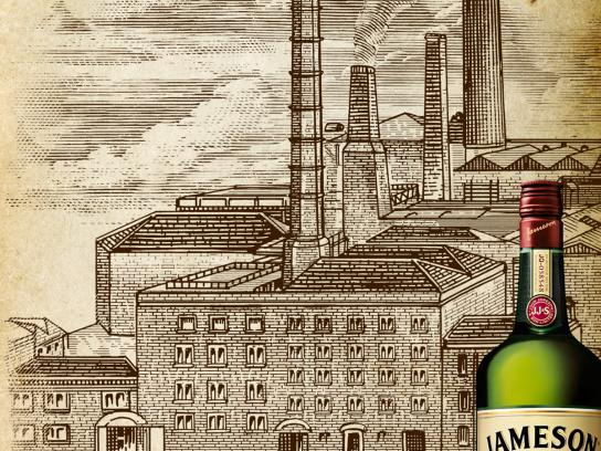 Jameson Print Ad -  Jameson 1780, Distillery