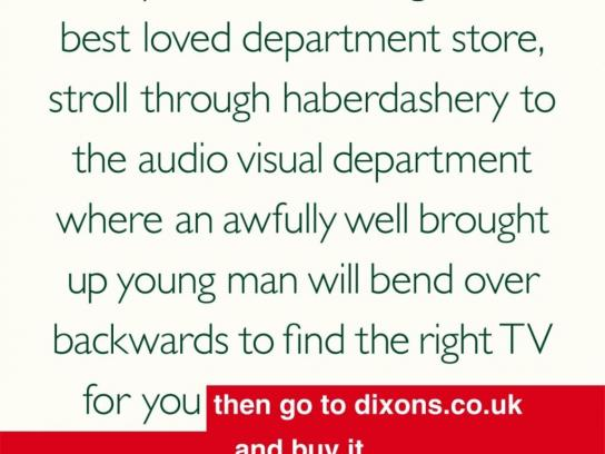 Dixons Print Ad -  Middle England