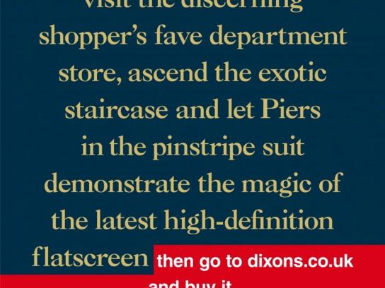 Dixons Print Ad -  Piers