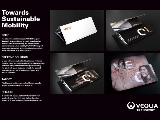 Veolia Direct Ad -  Thermochromic DM