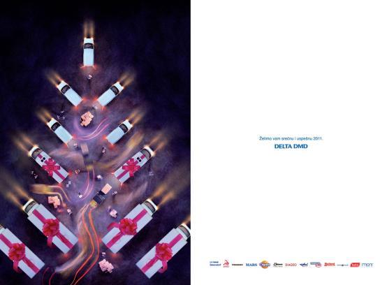 Delta DMD Print Ad -  Happy New Year