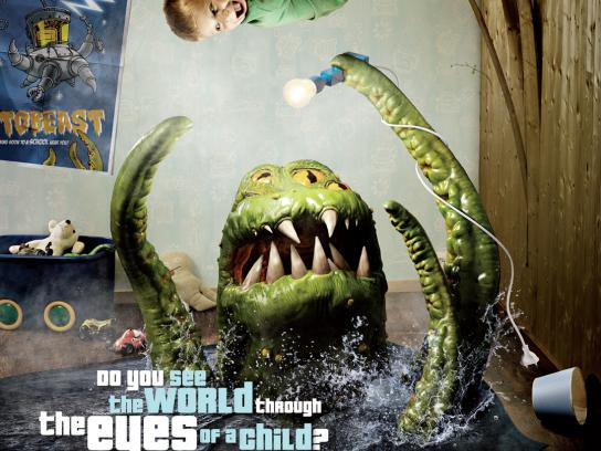 Queen Maud University College Print Ad -  Monster