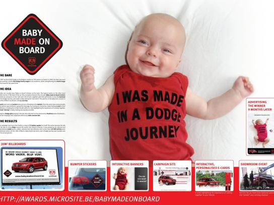 Dodge Ambient Ad -  Baby