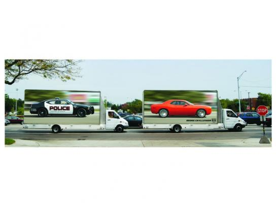 Dodge Ambient Ad -  Chase