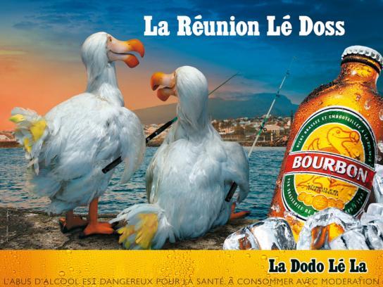 Bourbon Print Ad -  Fishing