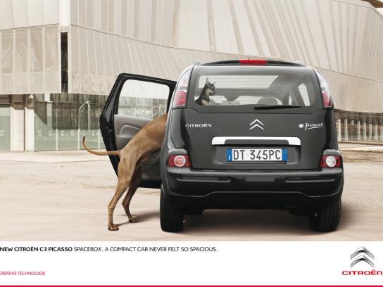 Citroën Print Ad -  Dog