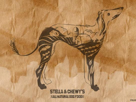 Stella and Chewy's Outdoor Ad -  Dog