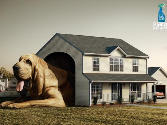 Febreze Print Ad -  Doghouse