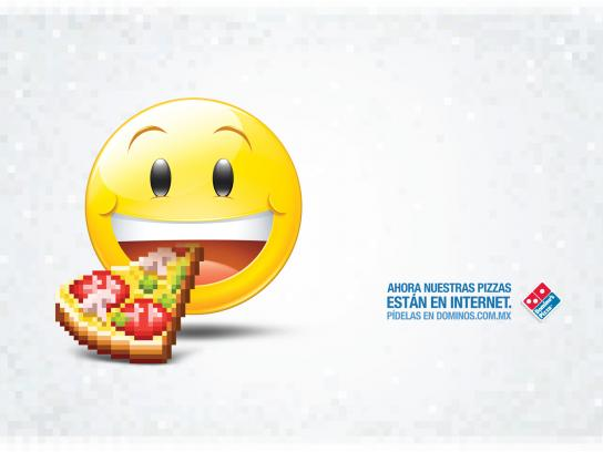 Domino's Pizza Print Ad -  Emoticon