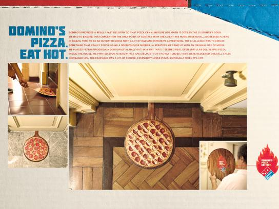 Domino's Pizza Direct Ad -  Eat Hot