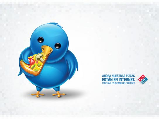 Domino's Pizza Print Ad -  Twitter