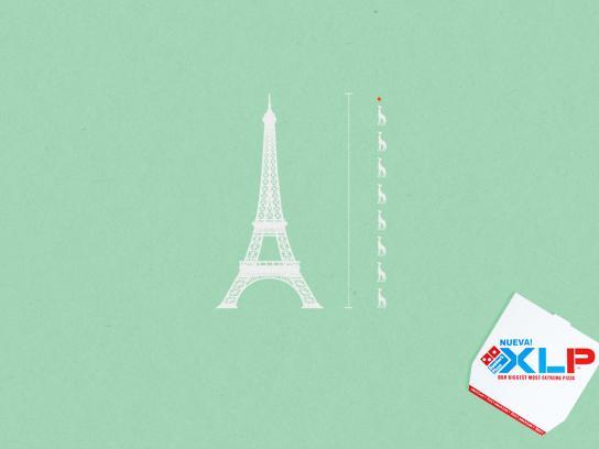 Domino's Pizza Print Ad -  Eiffel