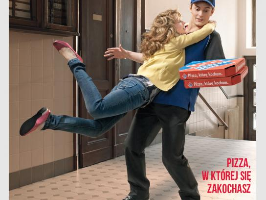 Domino's Pizza Print Ad -  Pizza, you will fall in love with