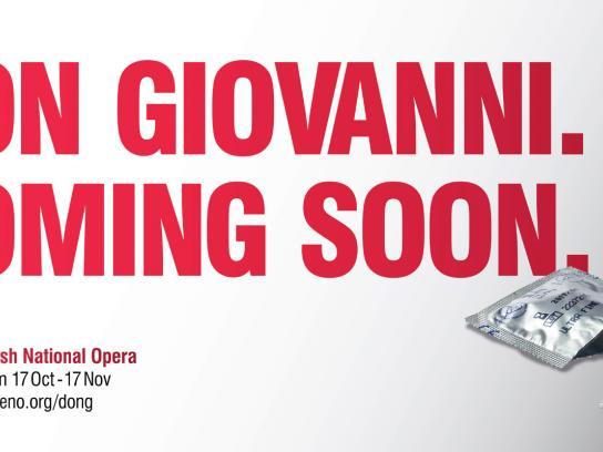 English National Opera Outdoor Ad -  Don Giovanni