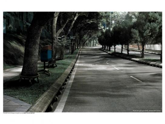 Toyota Print Ad -  Road, 1