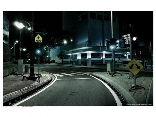 Toyota Print Ad -  Road, 2