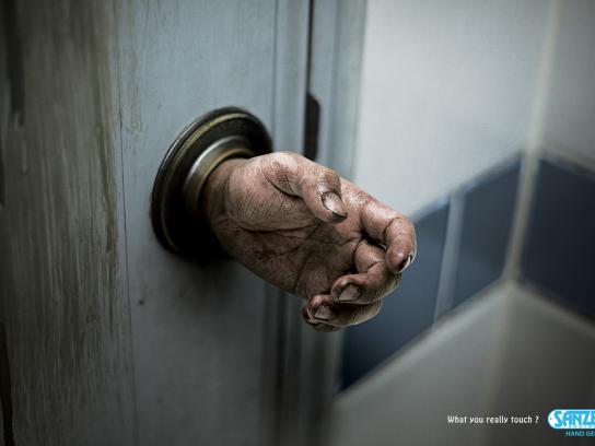 Sanzer Print Ad -  Doorknob