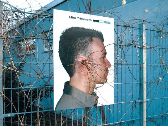 Tondeo Outdoor Ad -  Growing Poster Ear Hair
