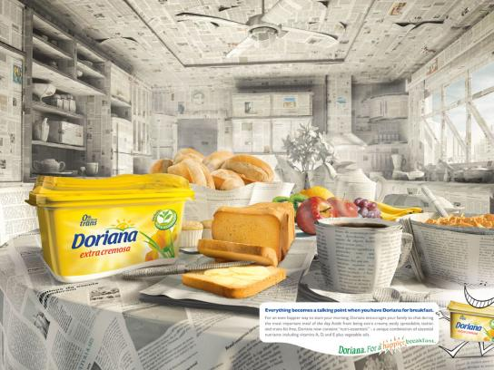 Doriana Print Ad -  Newspaper