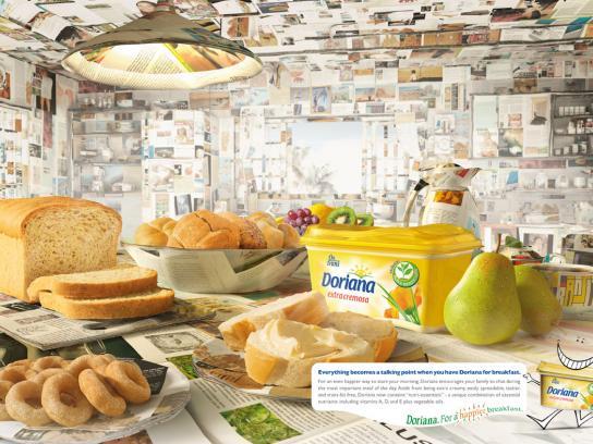 Doriana Print Ad -  Magazine