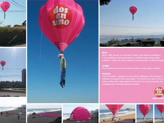 Dos en Uno Ambient Ad -  Balloon