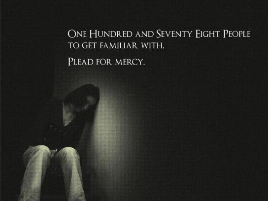 Plead for mercy