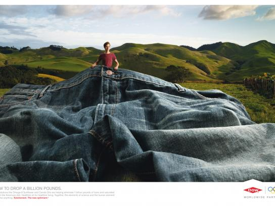Dow Chemical Company Print Ad -  Pants