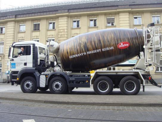 Doy Doy Outdoor Ad -  Truck